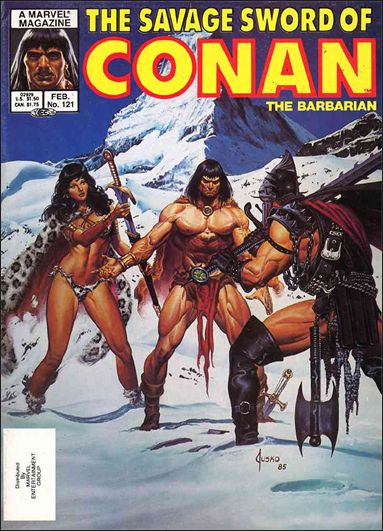Savage Sword of Conan (1974) 121-A by Marvel