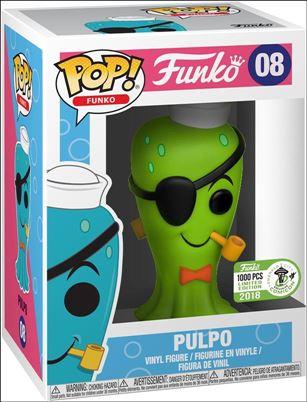 POP! Funko Originals Pulpo (Green) Emerald City Comicon 2018 1/1000