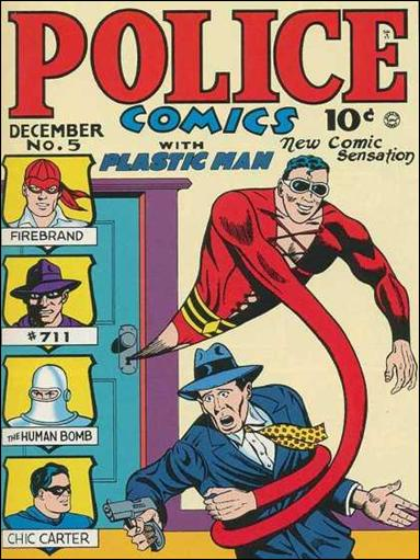 Police Comics 5-A by Comic Magazines