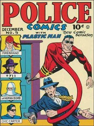 Police Comics 5-A