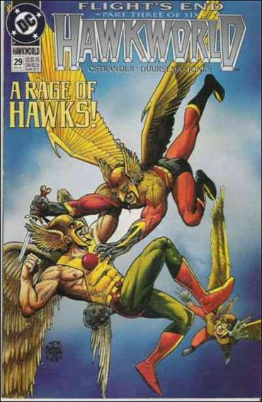 Hawkworld (1990) 29-A by DC