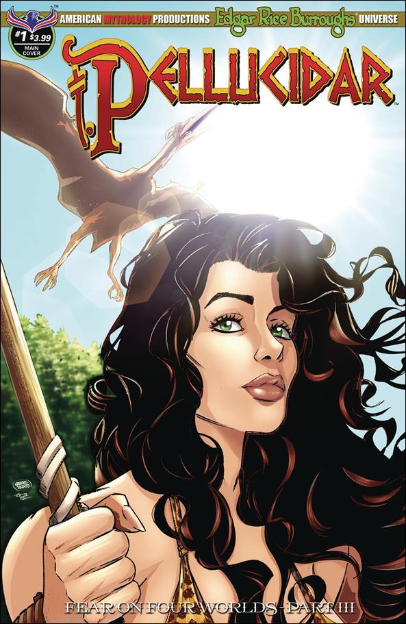 Edgar Rice Burroughs Pellucidar: Fear on Four Worlds 1-A by American Mythology