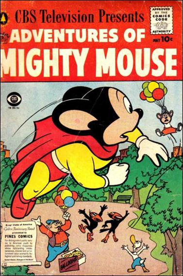 Adventures of Mighty Mouse (1956) nn 5-A by Pines