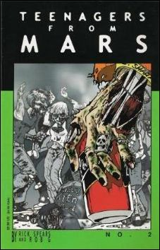 Teenagers from Mars 2-A by Rick Spears and Rob G.