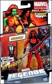 Marvel Legends (Hit Monkey Series) Hulkettes - Red She-Hulk by Hasbro