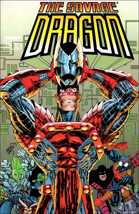 Savage Dragon (1993) 26-A by Image
