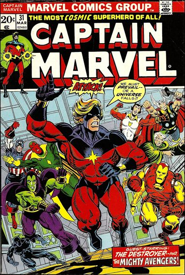 Captain Marvel (1968) 31-A by Marvel
