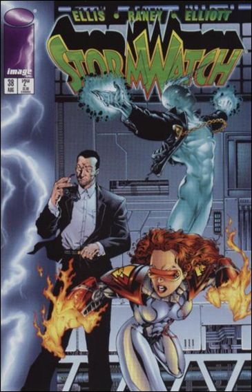 StormWatch (1993) 38-A by Image