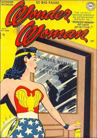 Wonder Woman (1942) 41-A by DC