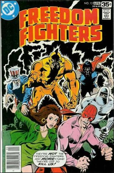 Freedom Fighters (1976) 13-A by DC