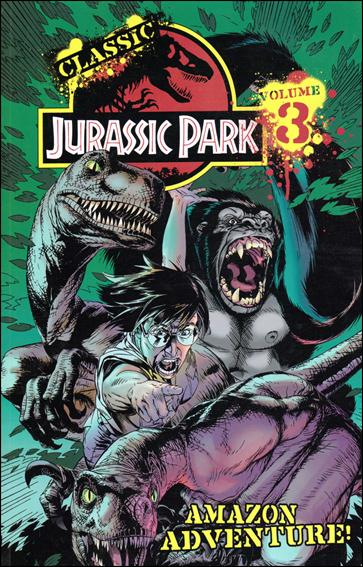 Classic Jurassic Park 3-A by IDW