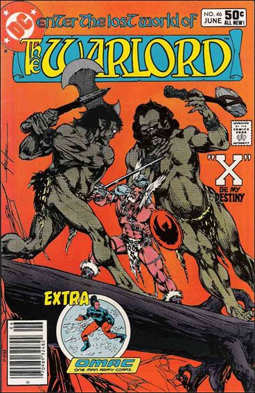 Warlord (1976) 46-A by DC