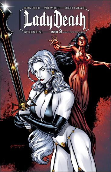 Lady Death (2010) 9-F by Boundless Comics
