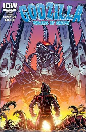 Godzilla: Rulers of the Earth 24-A