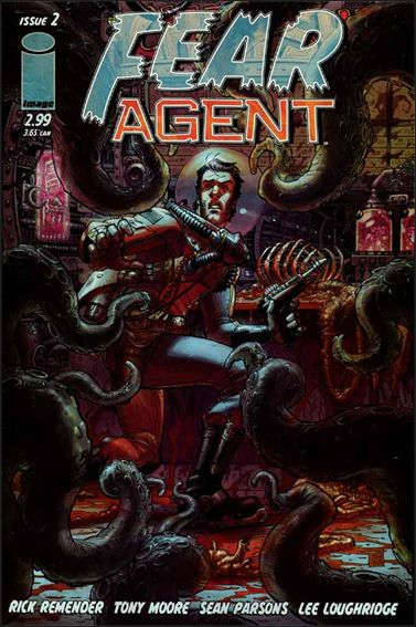Fear Agent (2005) 2-A by Image