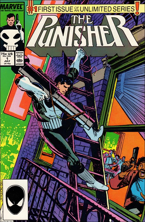 Punisher (1987) 1-A by Marvel