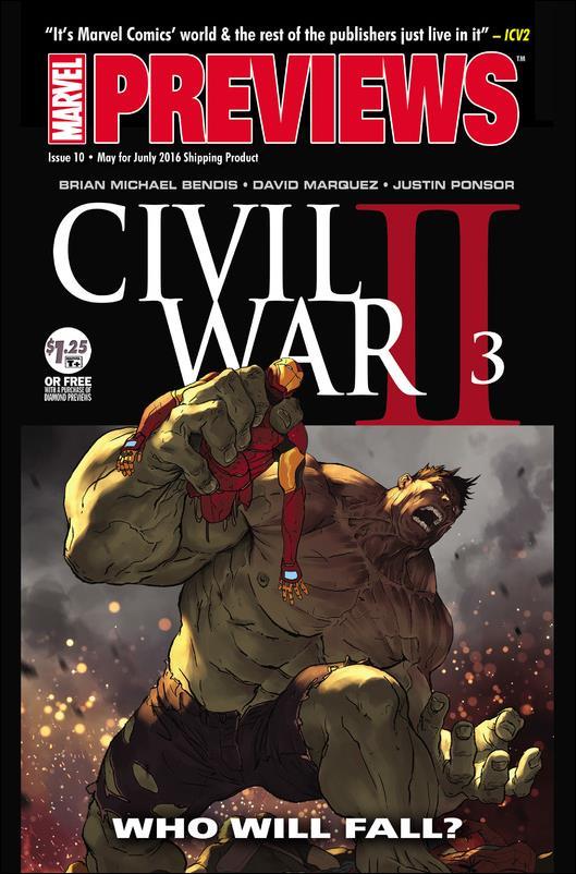 Marvel Previews (2015) 10-A