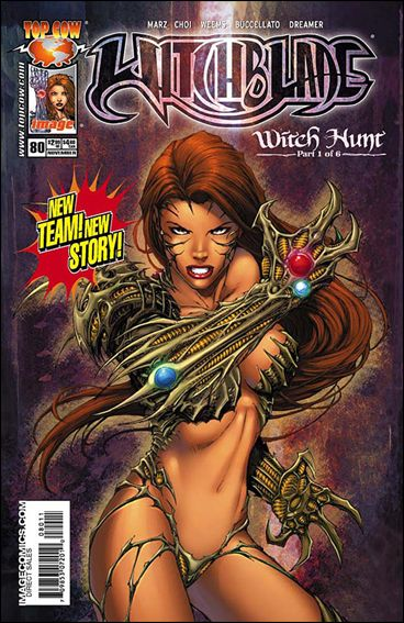 Witchblade 80-A by Top Cow