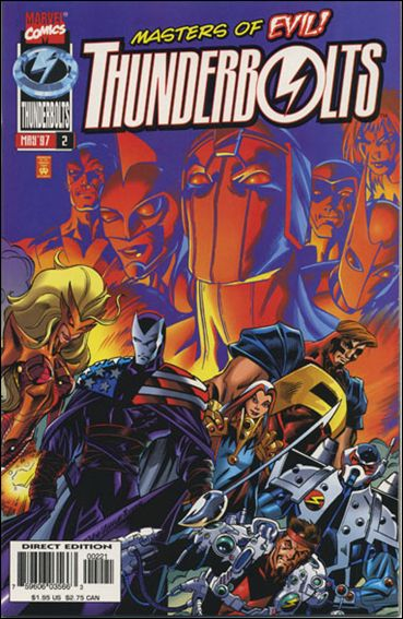 Thunderbolts (1997) 2-B by Marvel
