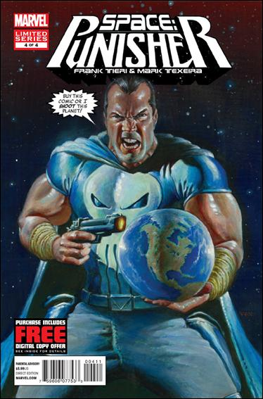 Space: Punisher 4-A by Marvel