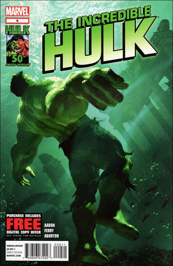 Incredible Hulk (2011)  9-A by Marvel