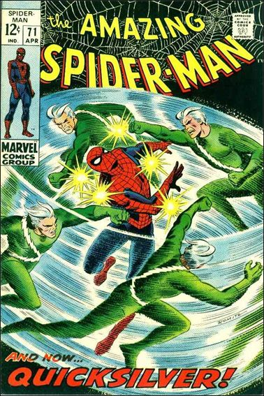 Amazing Spider-Man (1963) 71-A by Marvel