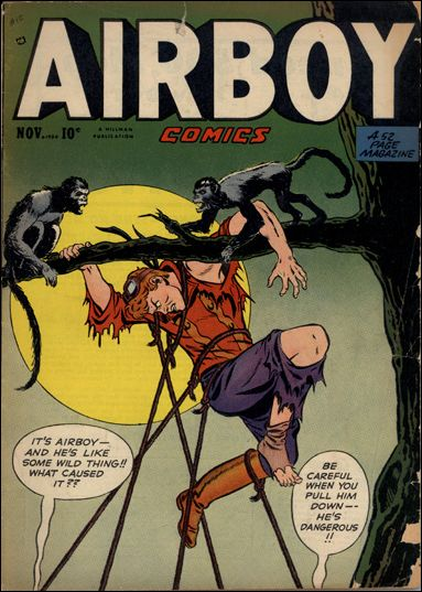 Airboy Comics (1950) 10-A by Hillman