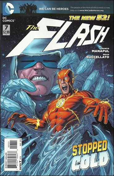 Flash (2011) 7-B by DC