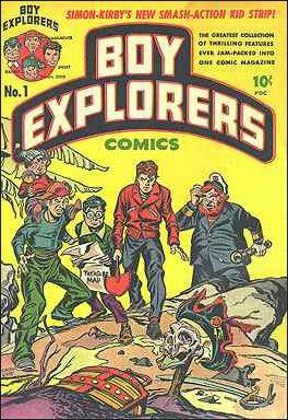 Boy Explorers Comics 1-A by Harvey
