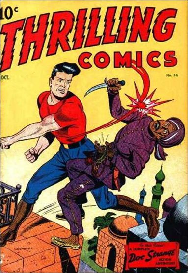 Thrilling Comics (1940) 56-A by Standard