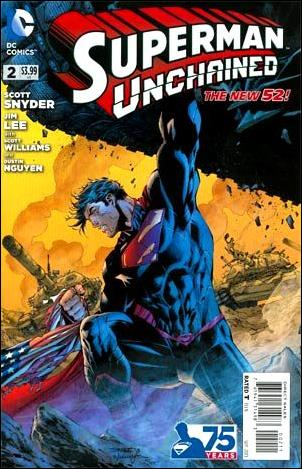 Superman Unchained 2-A by DC