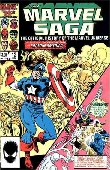 Marvel Saga 12-A by Marvel