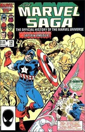 Marvel Saga 12-A