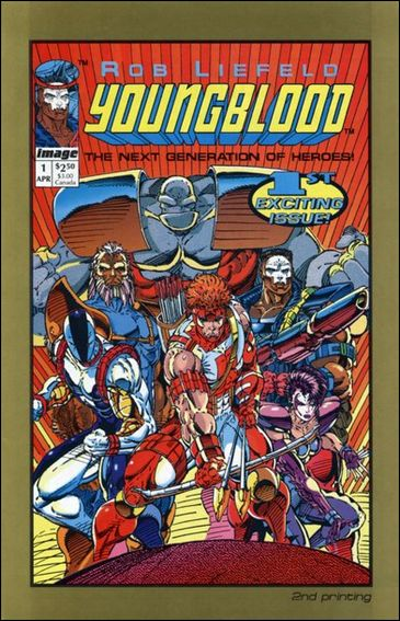 Youngblood (1992)  1-B by Image