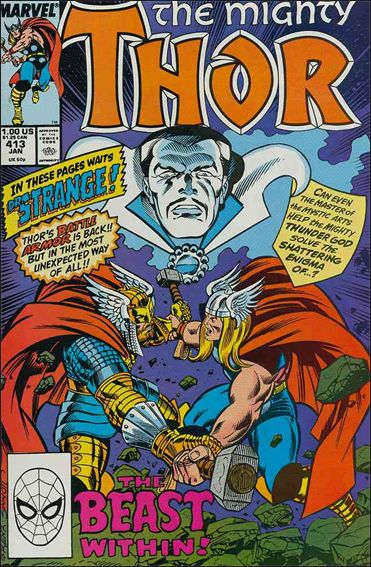 Thor (1966) 413-A by Marvel