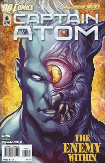Captain Atom (2011) 6-A by DC