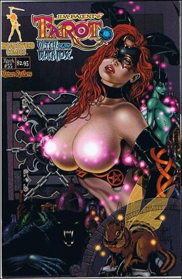 Tarot: Witch of the Black Rose 55-D by BroadSword Comics