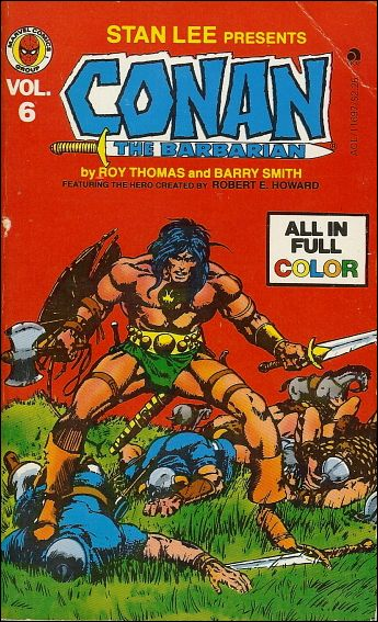 Conan the Barbarian 6-A by Marvel