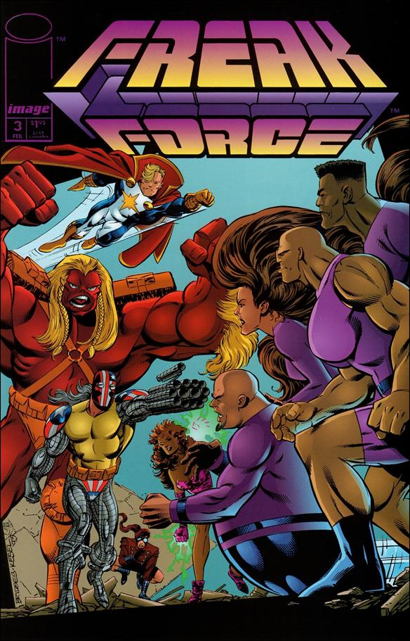 Freak Force (1993) 3-A by Image