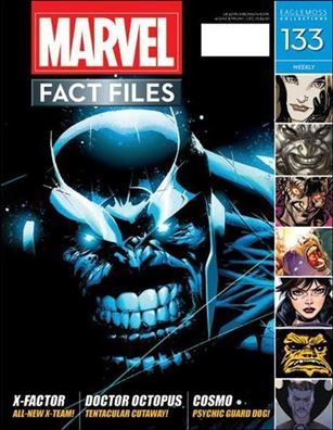 Marvel Fact Files 133-A