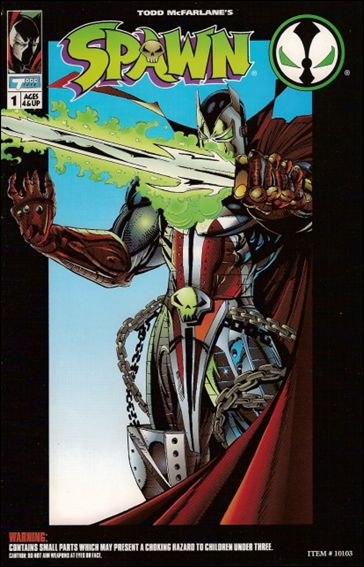 Spawn Action Figure Comic Medieval Spawn 1-A by Todd Toys