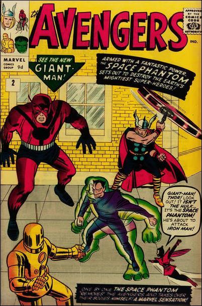 Avengers (1963) 2-B by Marvel