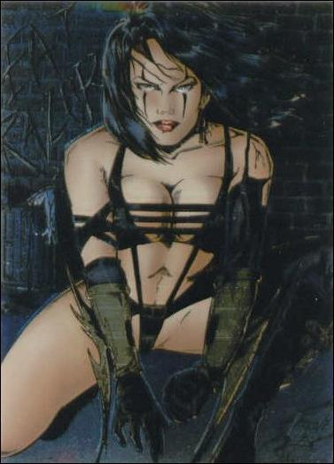 Razor Chromium Trading Cards (Base Set) 89-A by Krome Productions