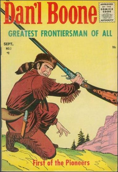Dan'l Boone 1-A by Magazine Enterprises