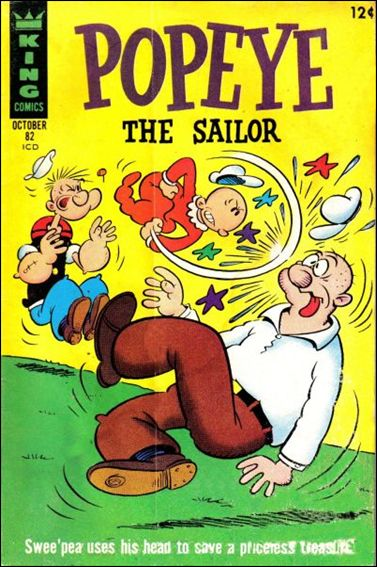 Popeye (1948) 82-A by Dell