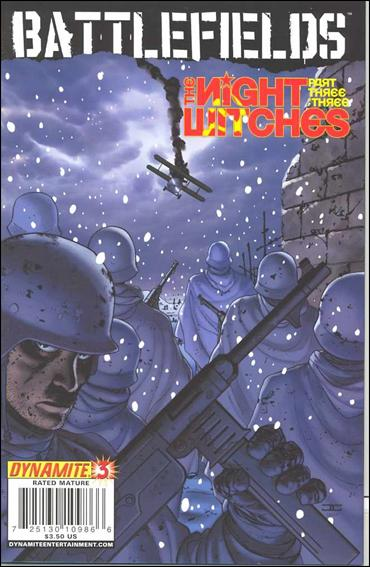 Battlefields: The Night Witches 3-A by Dynamite Entertainment
