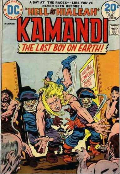 Kamandi, the Last Boy on Earth 13-A by DC