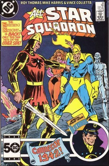 All-Star Squadron 48-A by DC