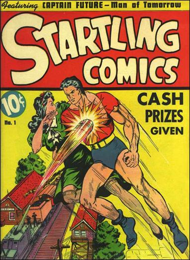Startling Comics (1940) 1-A by Nedor