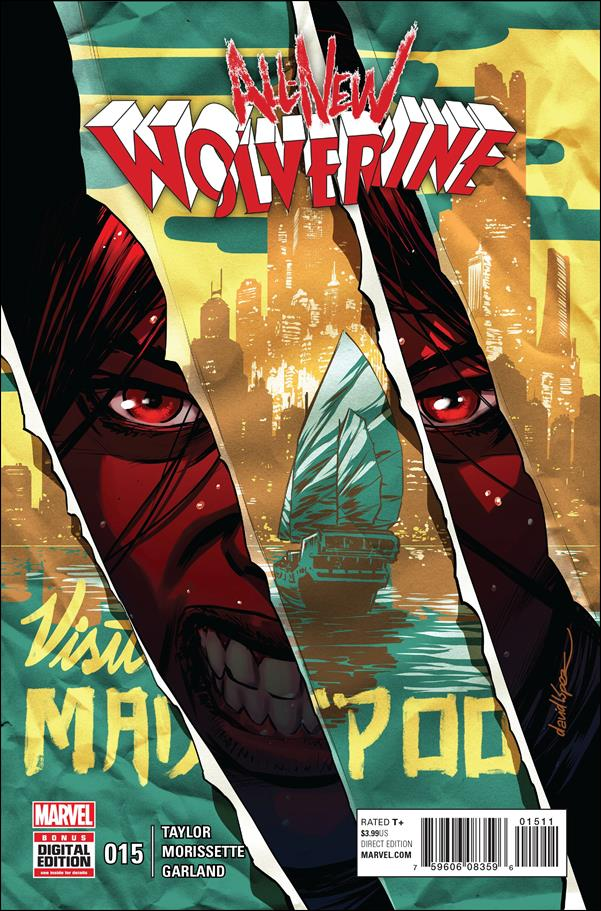 All-New Wolverine  15-A by Marvel